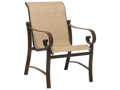 sling chair outdoor and sofa covers patio chairs patioliving woodard belden aluminum dining