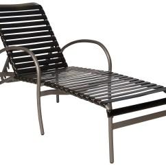 Lounge Chair Replacement Straps Walmart Adirondack Chairs Woodard Rivington Strap Aluminum Adjustable Stackable