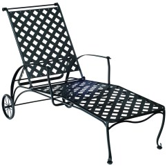 Iron Chaise Lounge Chairs Folding Chair Ergonomics Woodard Maddox Wrought Adjustable 7f0070