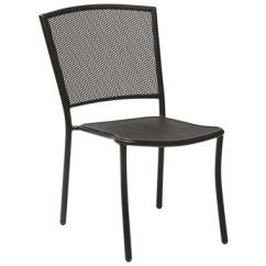 Outdoor Dining Chairs Sale Black Wedding Chair Covers For Luxedecor Woodard Albion Wrought Iron In Textured