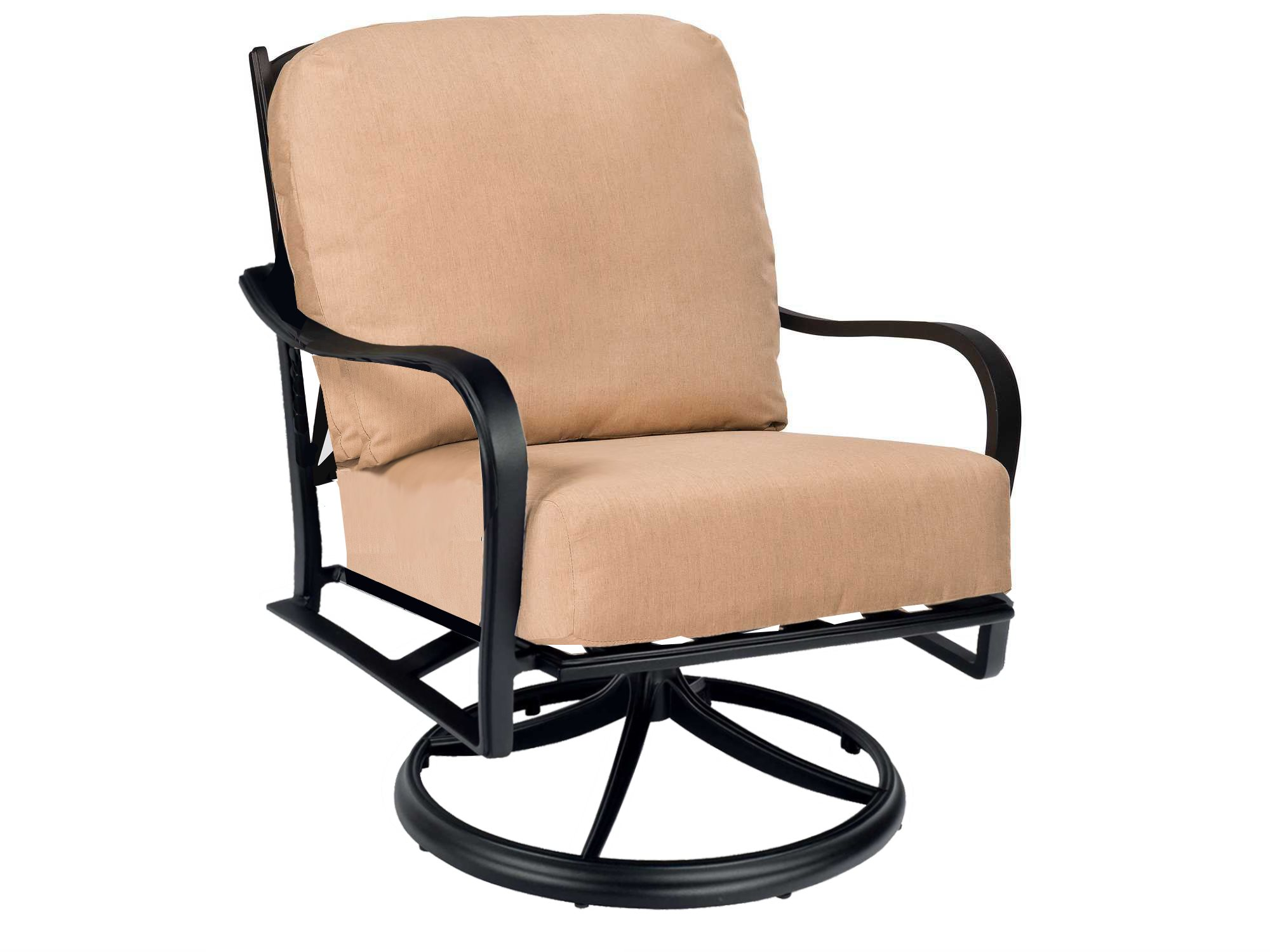 Rocking Chair Replacement Cushions Woodard Apollo Swivel Rocker Lounge Chair Replacement Cushions
