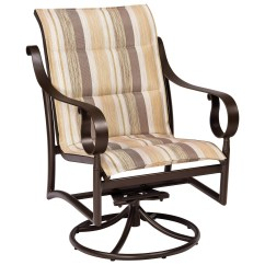 Low Lawn Chairs How To Make A Chair Swivel Woodard Ridgecrest Padded Sling Aluminum Back