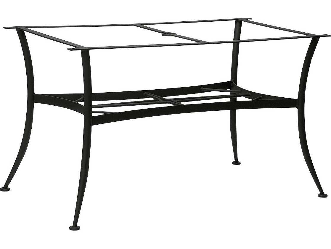 Woodard Universal Wrought Iron Large Dining Table Base