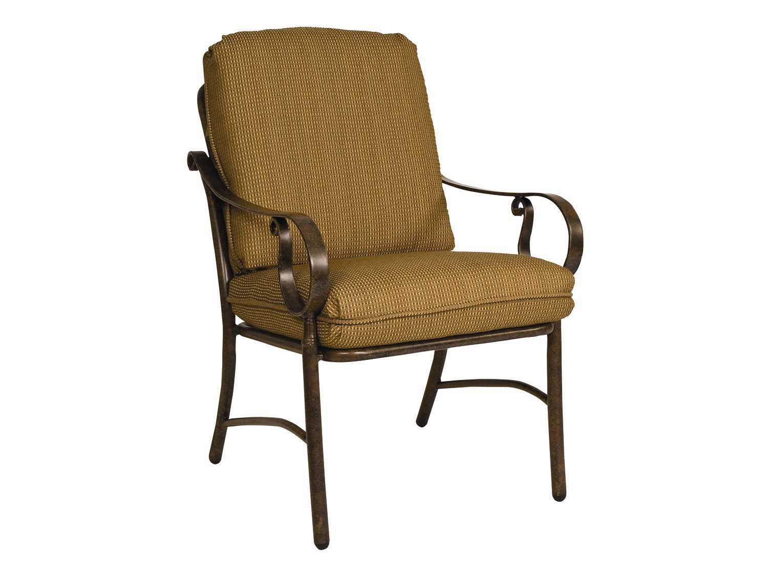 Replacement Cushions For Patio Chairs Woodard Bungalow Replacement Chair Seat And Back Patio