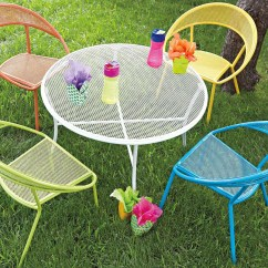 Child Patio Chair Design Contest Woodard Spright Kids Set Wrought Iron Round Table And