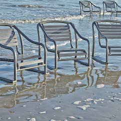 Baja Beach Chairs Grey Leather Dining Table Woodard Strap Aluminum Stackable Sand Chair 230450