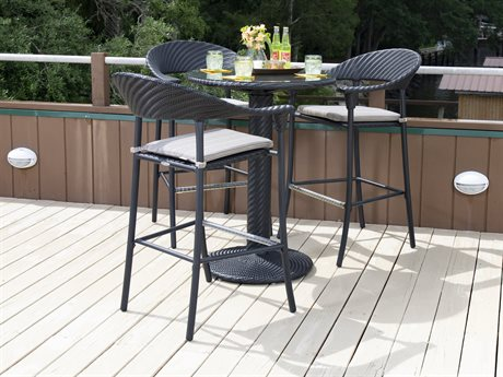 outdoor bar sets dine in style with