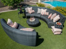 Woodard Canaveral Wicker Lounge Set Canalngese10