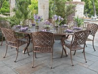 Woodard Casa Cast Aluminum Dining Set | WRCASADINSET