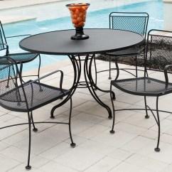 Iron Chair Price Ergonomic Mississauga Woodard Constantine Wrought Dining Set Conds