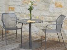 Wrought Iron Bistro Table Patio Set