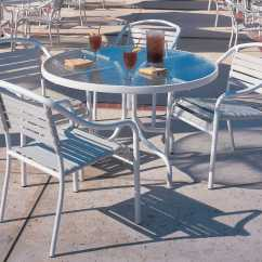 Baja Beach Chairs Wedding Chair Cover Hire Belfast Woodard Strap Aluminum Stackable Dining Arm