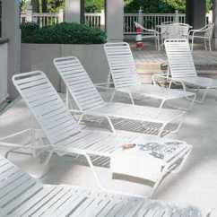 Poolside Lounge Chairs Chair Seat Cushion Pool Furniture Deck Patioliving Strap Sets