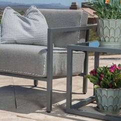 Spotlight Outdoor Chair Covers Beach Chairs Tommy Bahama Woodard Salona Cushion By Joe Ruggiero Aluminum Lounge