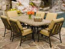 Outdoor Stone Patio Tables