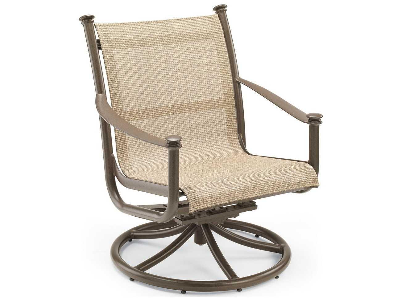 swivel chaise lounge chair ergonomic karachi winston catania sling aluminum tilt chat