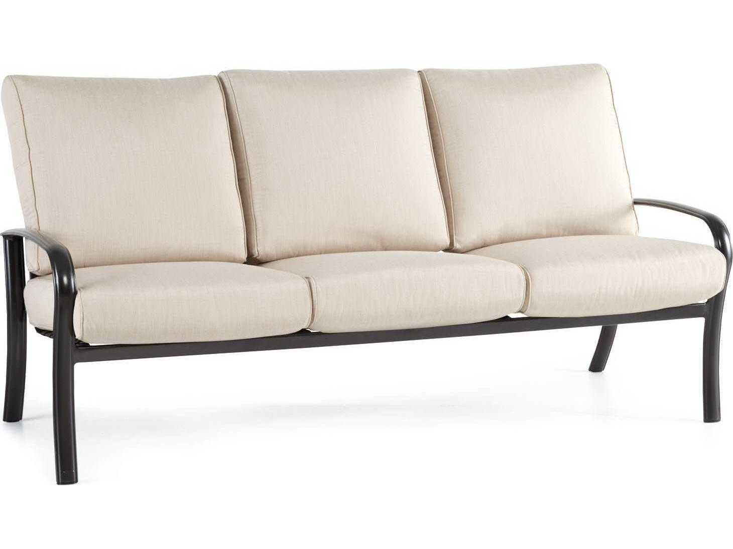 glider sofa modern fabric set winston savoy cushion aluminum m24031