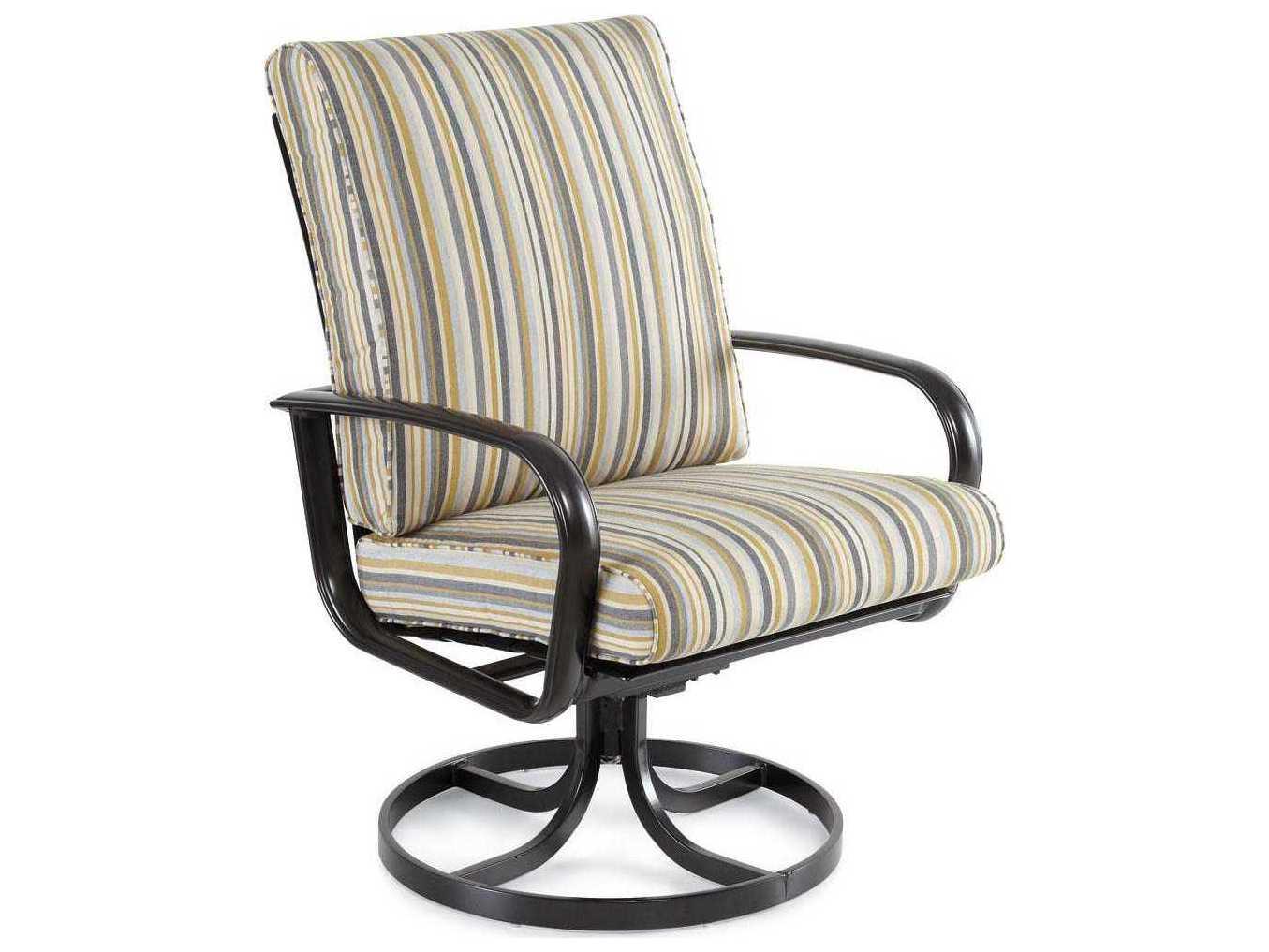 swivel chair cushions matrix fishing winston savoy cushion aluminum high back tilt