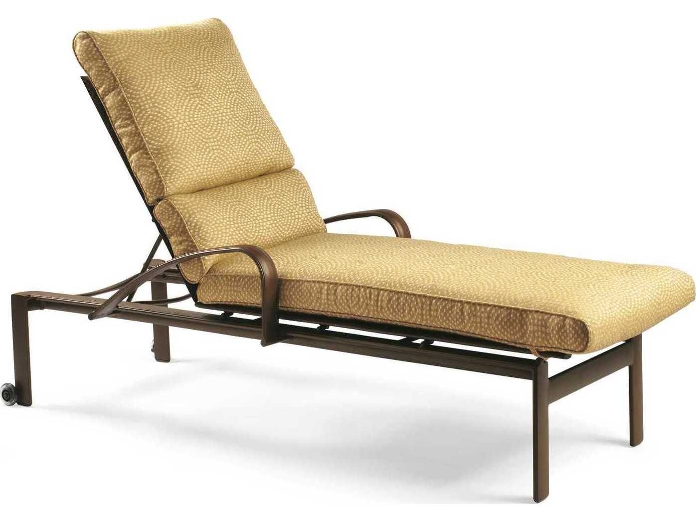 metal lounge chair with wheels linen slipcovered dining chairs winston belvedere cushion aluminum chaise