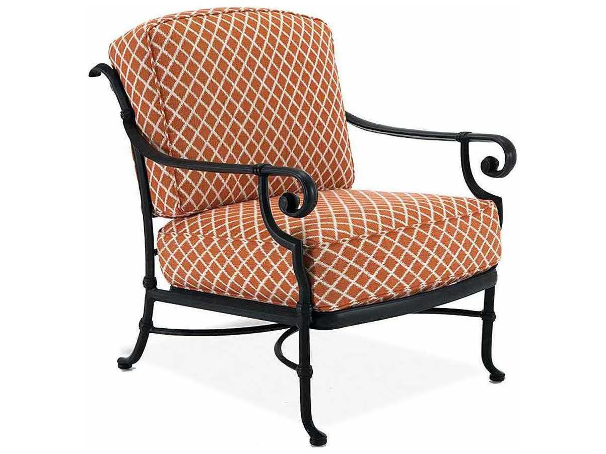 Deep Seating Patio Chairs Winston Legacy Deep Seating Cast Aluminum Cushion Arm