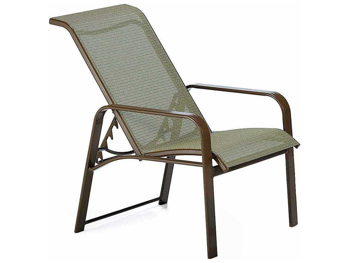 Sling Chairs Winston Seagrove Ii Sling Aluminum Adjustable Chair Wsm62017