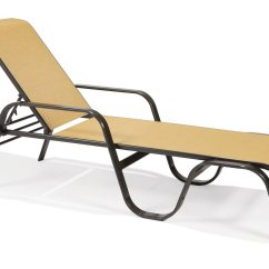 Sling Chaise Lounge Chair Oversized Zero Gravity With Cup Holder Winston Key West Aluminum Arm Stackable