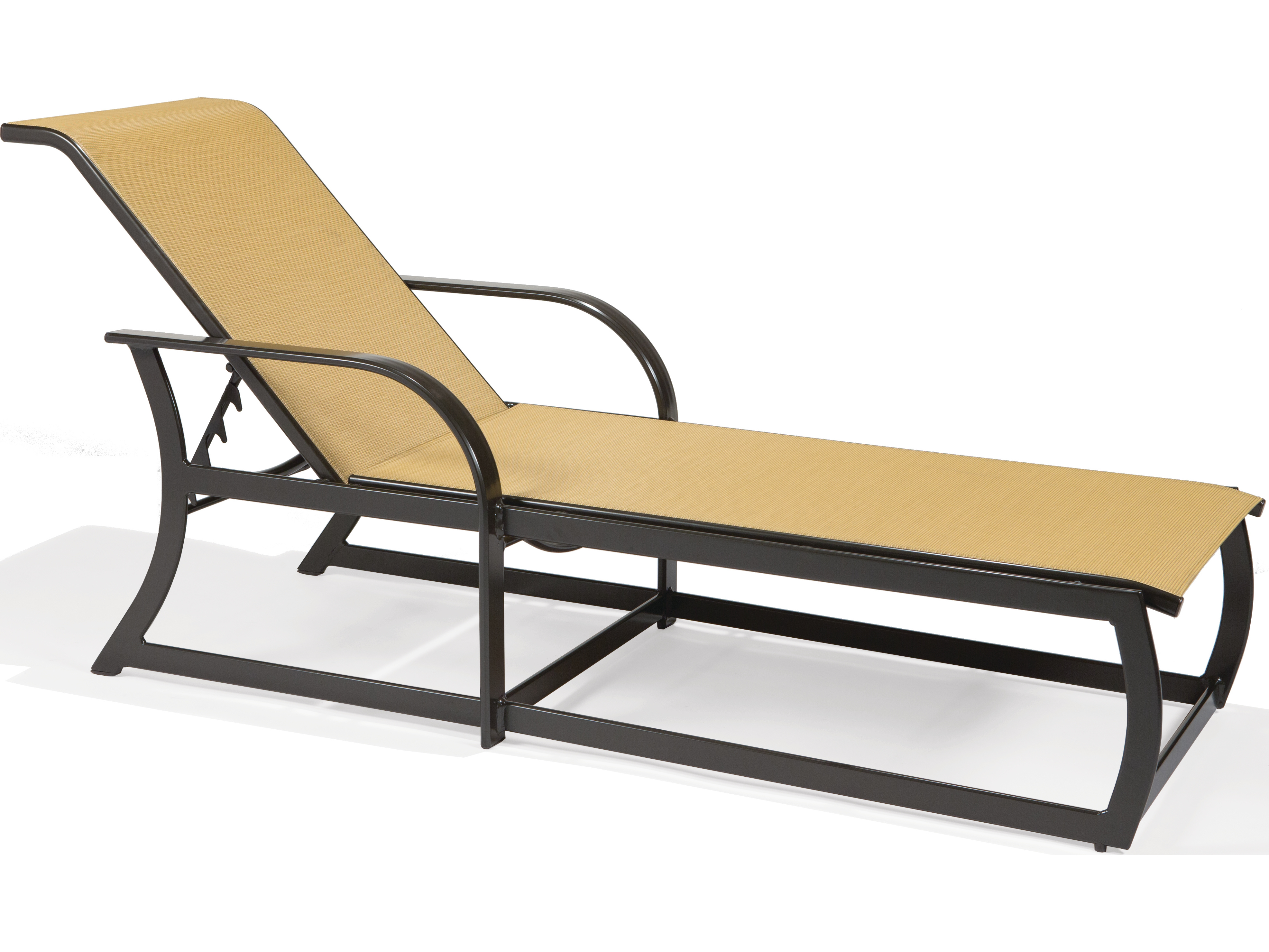 Sling Chaise Lounge Chair Winston Key West Sling Aluminum Arm Chaise Lounge Wsm8009