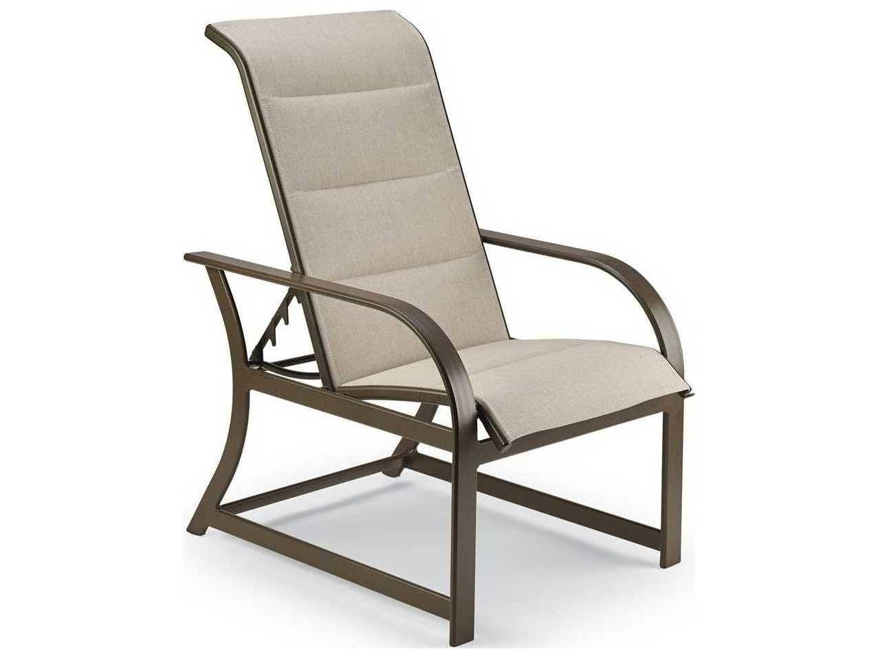 sling motion patio chairs ikea futon chair bed winston key west padded aluminum adjustable