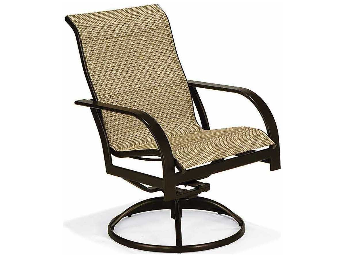 sling back chair styles of chairs names winston key west aluminum high swivel tilt