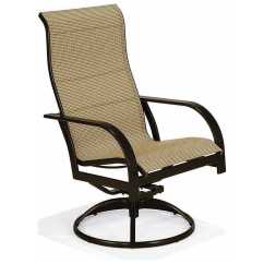 Key West Chairs King And Queen For Rent Winston Sling Aluminum Ultimate High Back Swivel