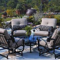 Spotlight Outdoor Chair Covers Stool Office Furniture Winston Palazzo Cushion Cast Aluminum Arm Spring Lounge