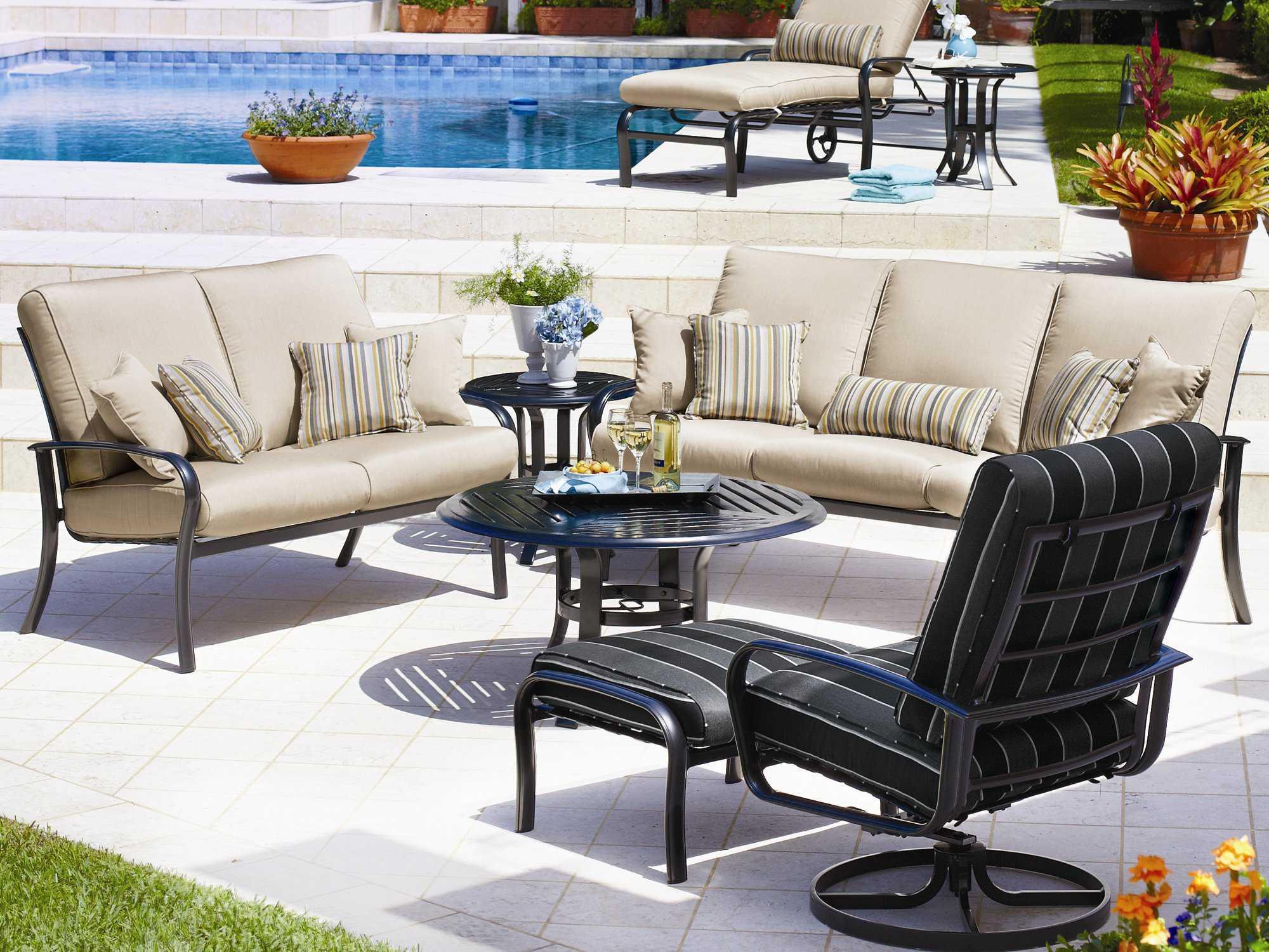 spotlight outdoor chair covers variable furniture balans the original kneeling winston savoy cushion aluminum arm ultra swivel tilt