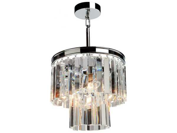 Artcraft Lighting El Dorado Chrome Three-light 12'' Wide Mini Chandelier Acac10403ch