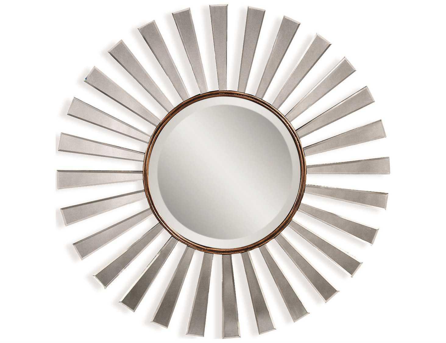 Bassett Mirror Thoroughly Modern 35 X 35 Bronze Gold