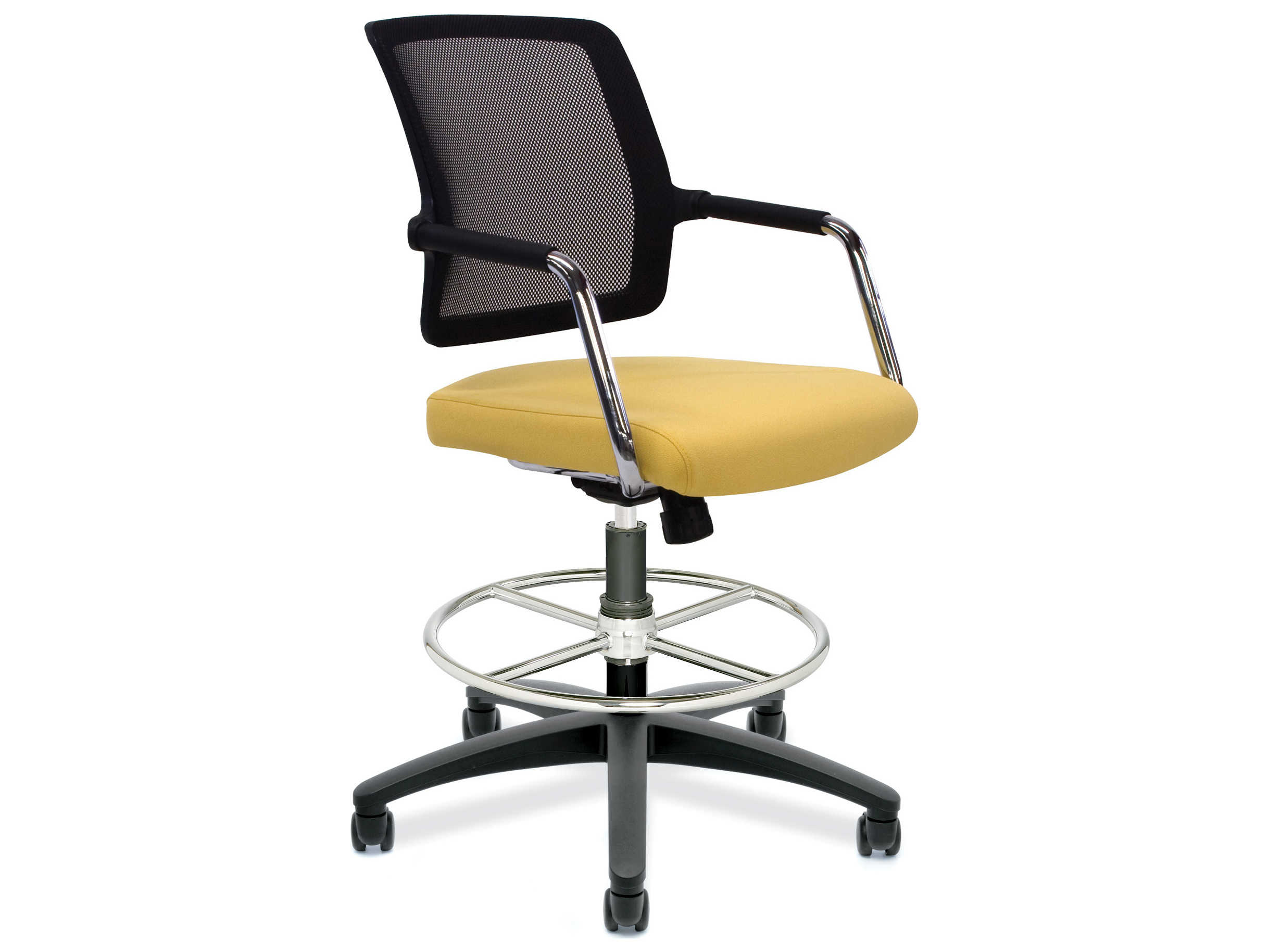Dauphin Chairs Dauphin Logan Swivel Raised Back Medium Chair
