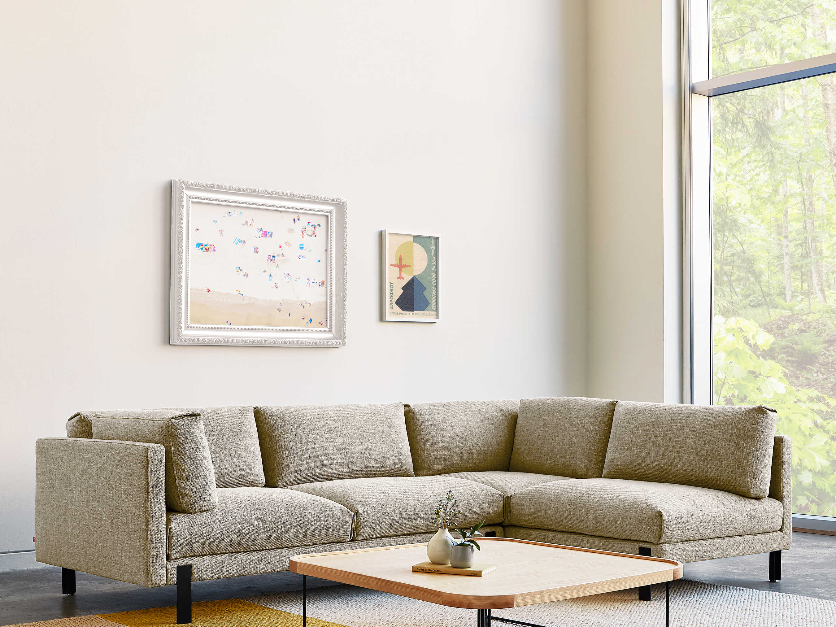 gus modern silverlake andorra almond right facing sectional sofa gumksscsirfandalm