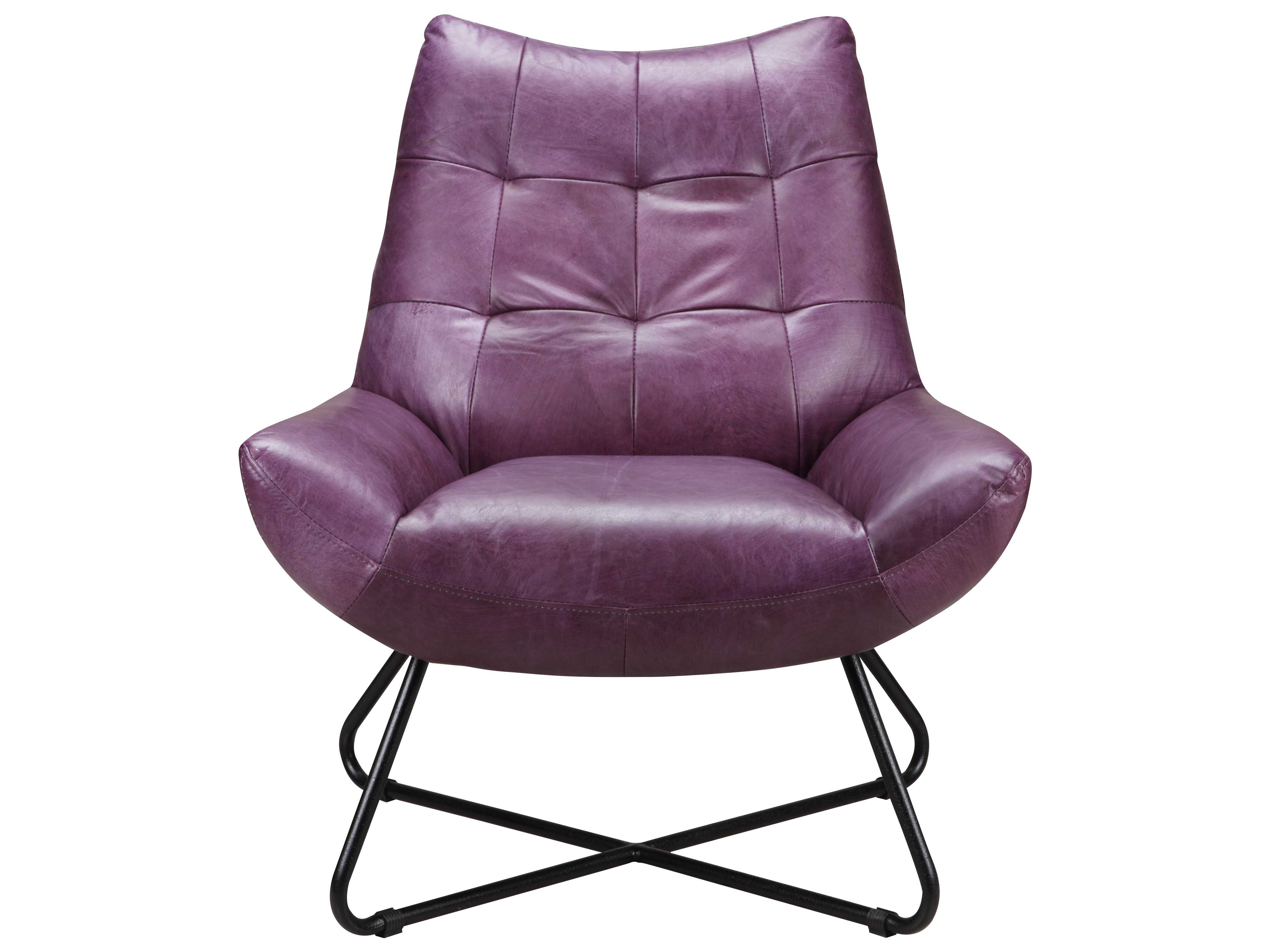 Purple Accent Chair Moe S Home Collection Graduate Purple Lounge Accent Chair