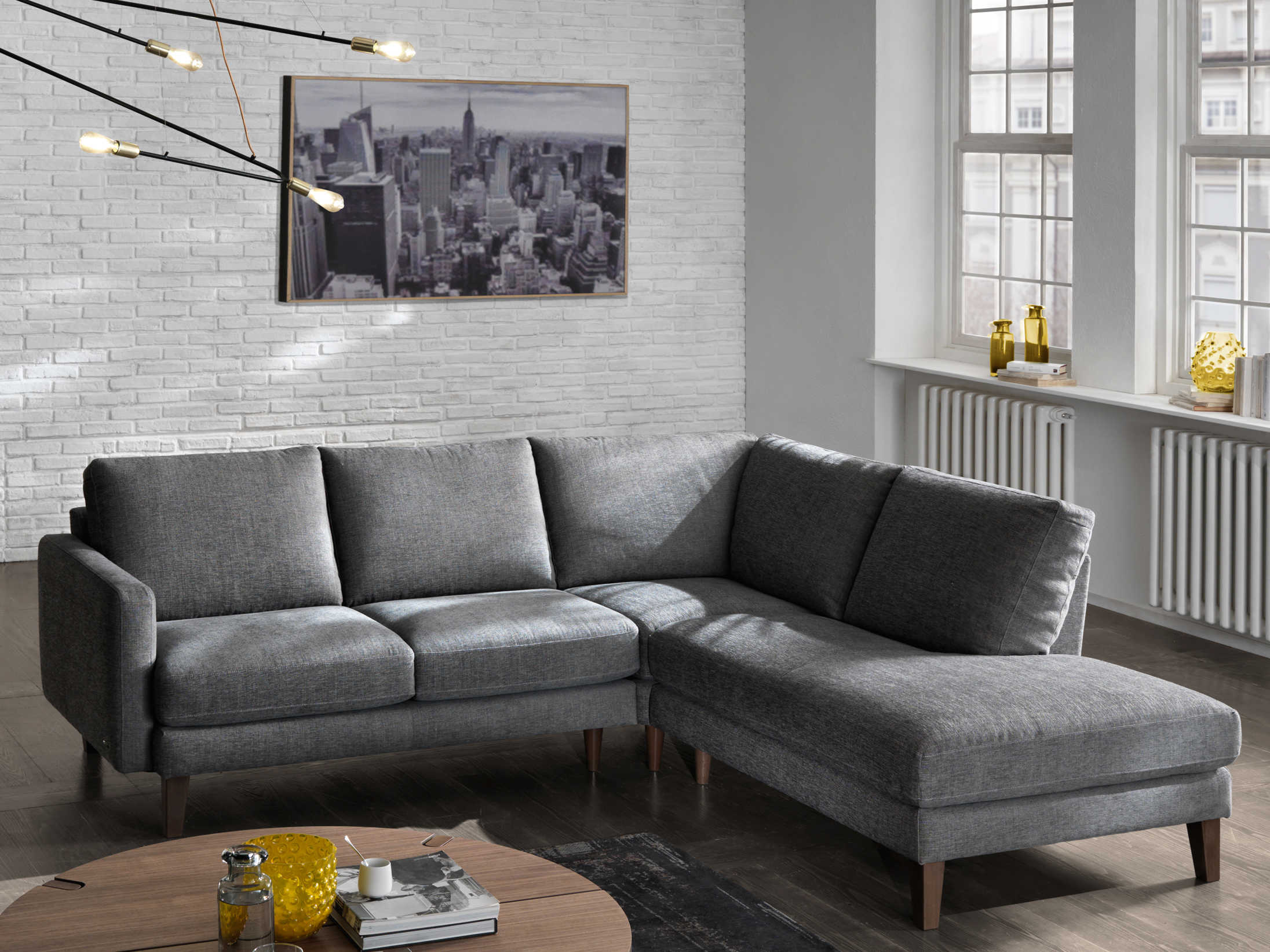 Natuzzi editions is the largest furniture house in italy with twelve manufacturing plants. Natuzzi Editions Ercole Sectional Sofa | NTZB973016011073