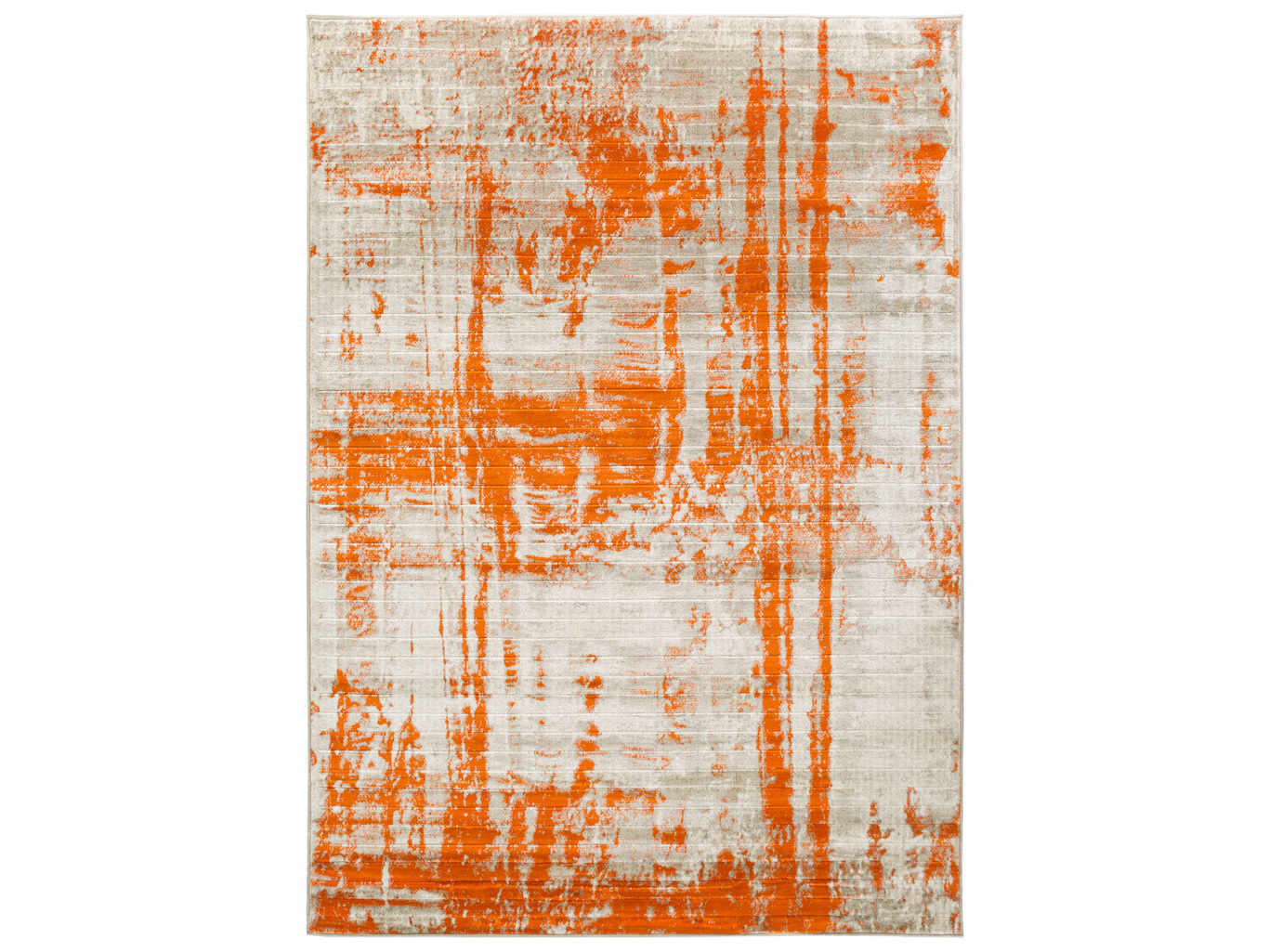 Surya Jax Rectangular Light Gray Burnt Orange Area Rug Syjax5032rec