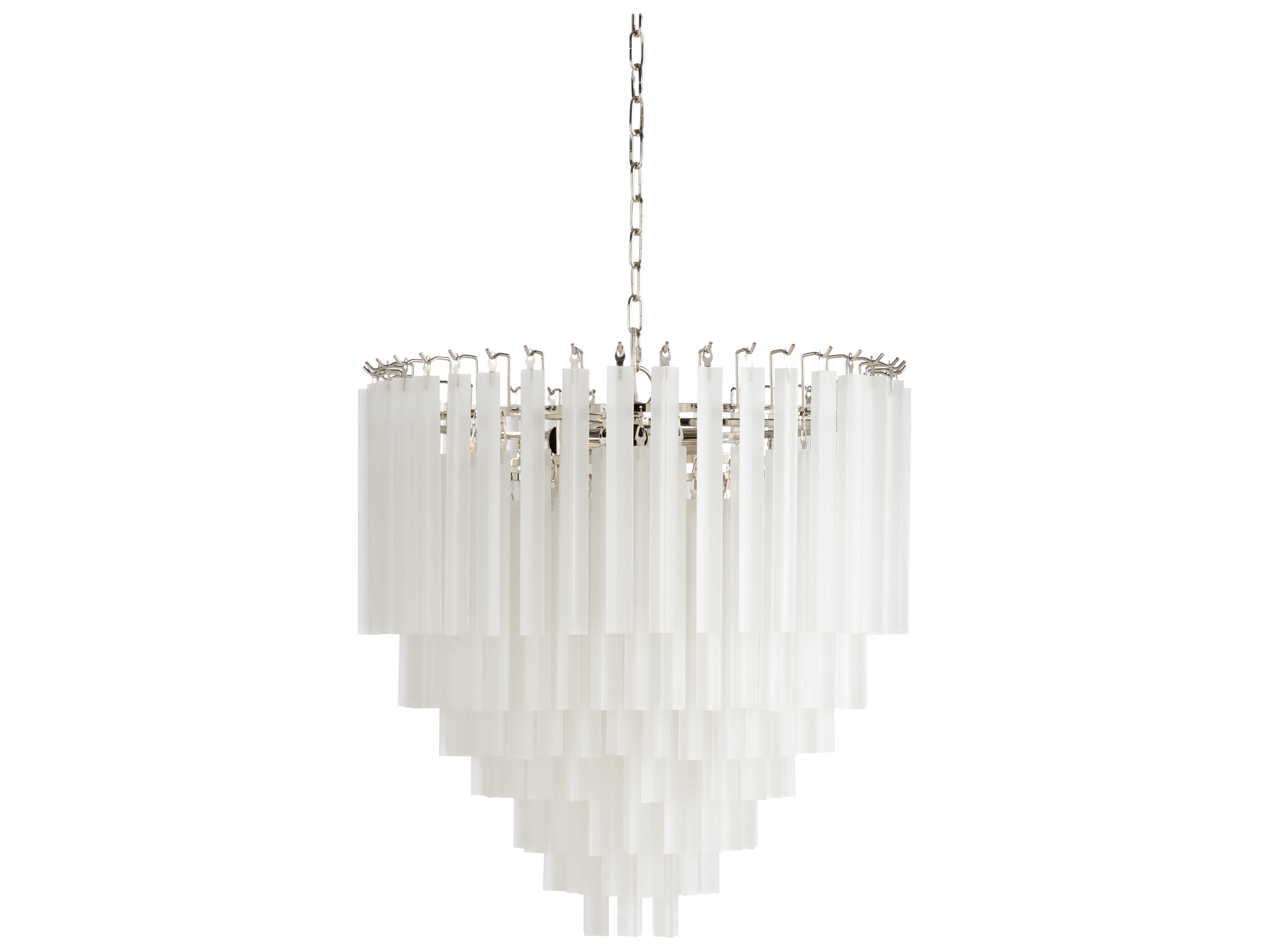 wildwood lamps polished nickel frosted 9 light 25 wide glass medium chandelier wl67211