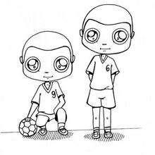 Malvorlage Handballspieler