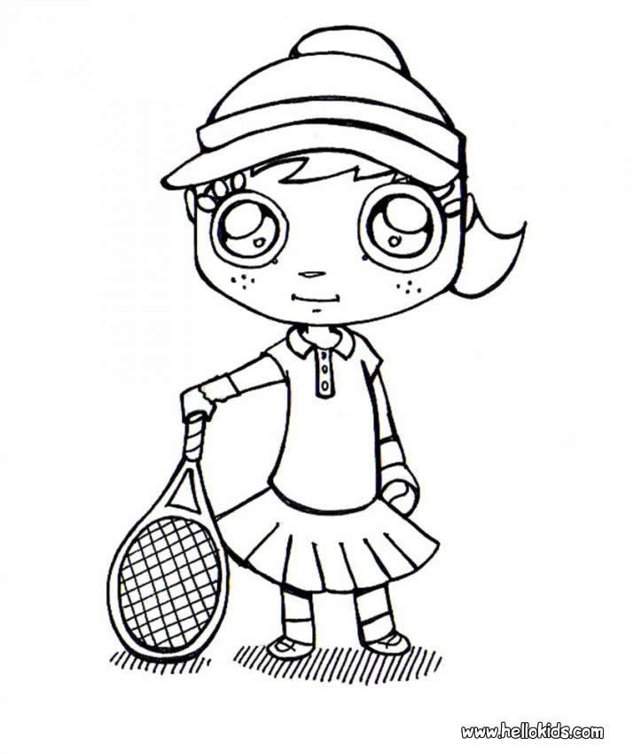 And Coloring Pages Serena Venus Williams