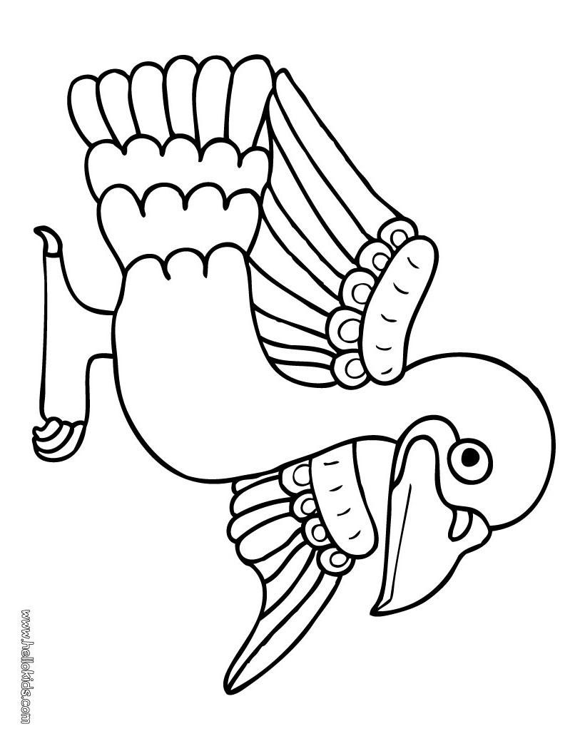 Tauben Zum Ausmalen - Vorlagen zum Ausmalen gratis ausdrucken