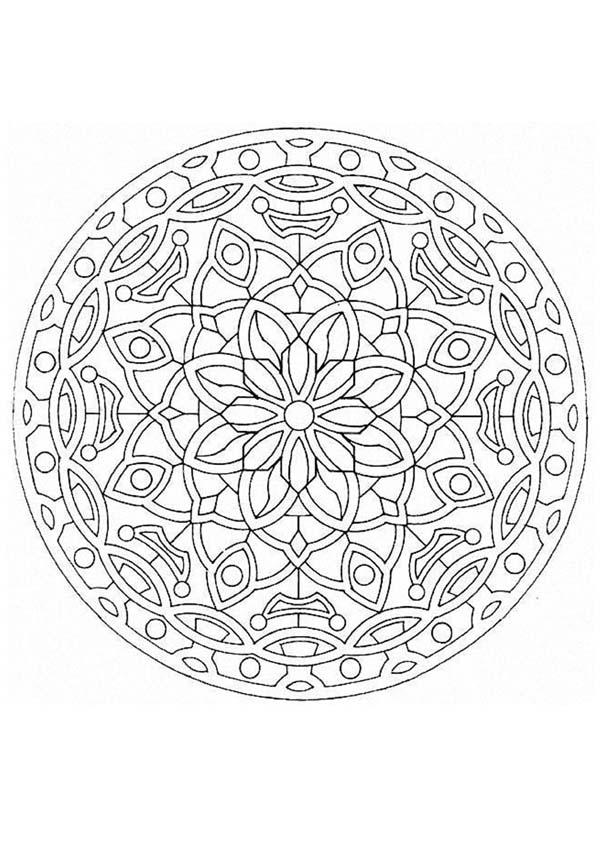 Mandala 50 Zum Ausmalen Dehellokidscom