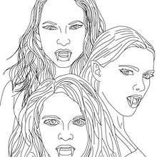 Vampir : Ausmalbilder, Bilder für Kinder, Basteln, Videos