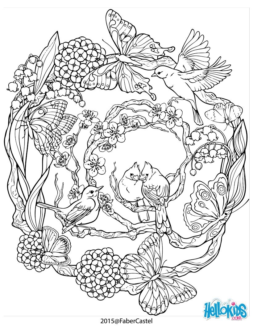 Tree Of Life Coloring Pages For Adults Coloring Pages