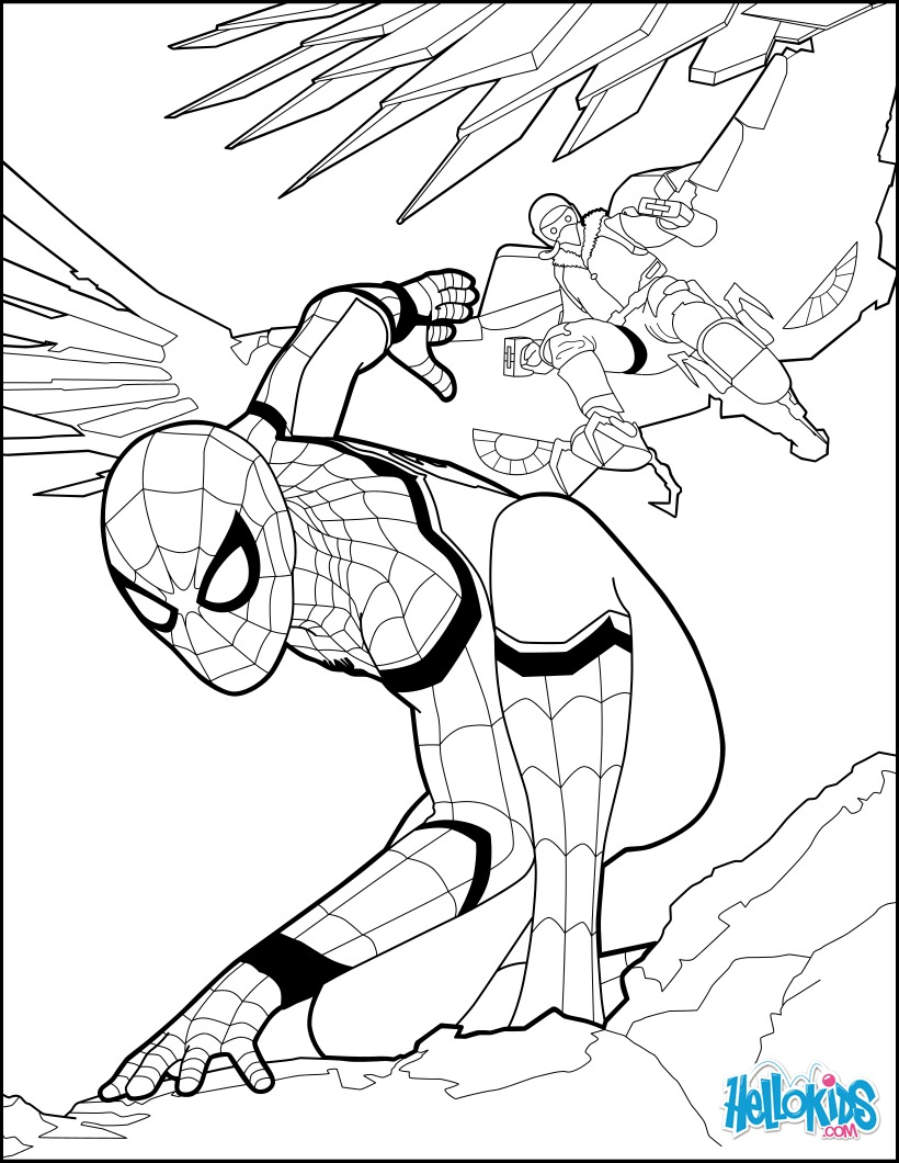Malvorlagen Kinder Spiderman