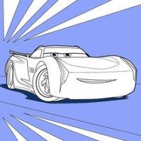 Malvorlagen Jackson Storm Disney Cars Malvorlagen