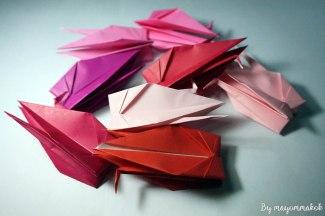 4_Red_Origami_crane
