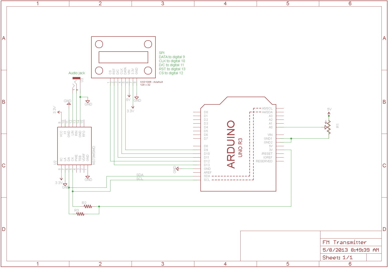 hight resolution of  fm frame1 fm transmitter with arduino i am gew ssd1306 bs2 at cita asia ssd1306 128x32 wiring diagram